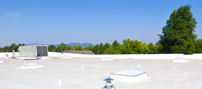 Flat Single Ply River Roofing Residential And